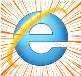 インターネットエクスプローラーのロゴ